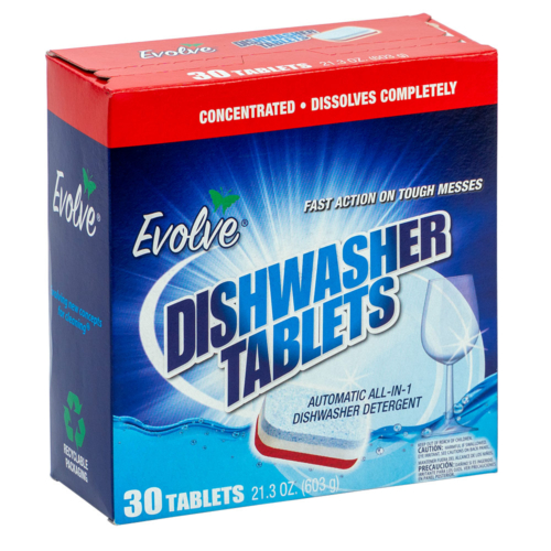 Evolve Dishwasher Tablets (30 count)